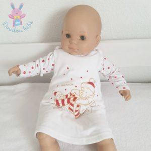 Robe de Noël blanche Winnie bébé fille 6 MOIS DISNEY