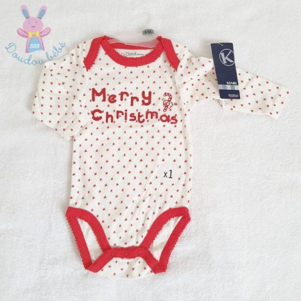 Body de Noël bébé 9 MOIS