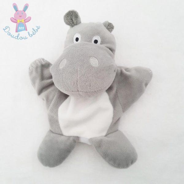 Doudou marionnette Hippopotame MAISONS DU MONDE