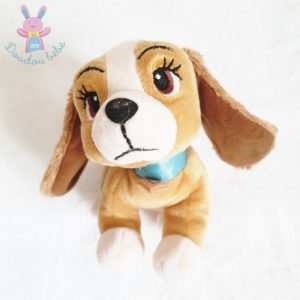 Doudou Chien Belle et le Clochard marron beige DISNEY