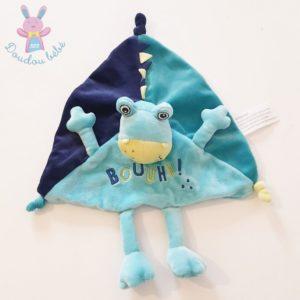 Doudou plat Dragon Monstre bouuhh bleu KIMBALOO LA HALLE