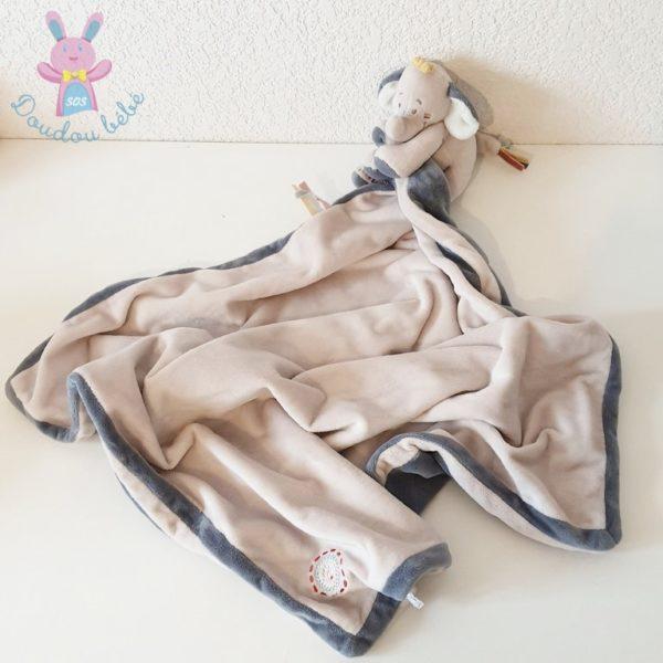 Doudou éléphant Bao couverture NOUKIE'S