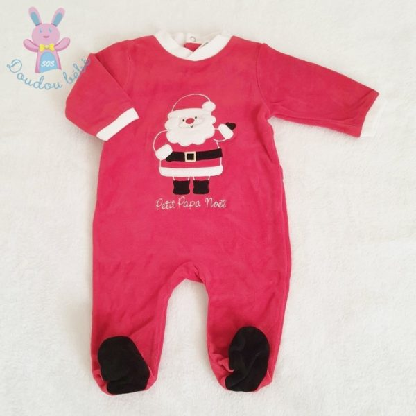 Pyjama de Noël rouge bébé 3 MOIS