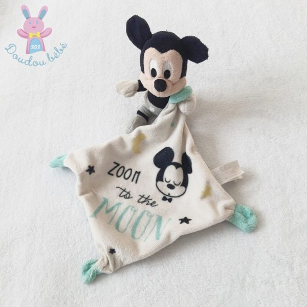 Doudou Mickey mouchoir DISNEY