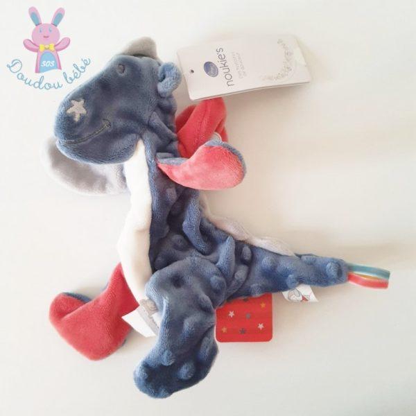 Doudou plat Dragon Victor NOUKIE'S
