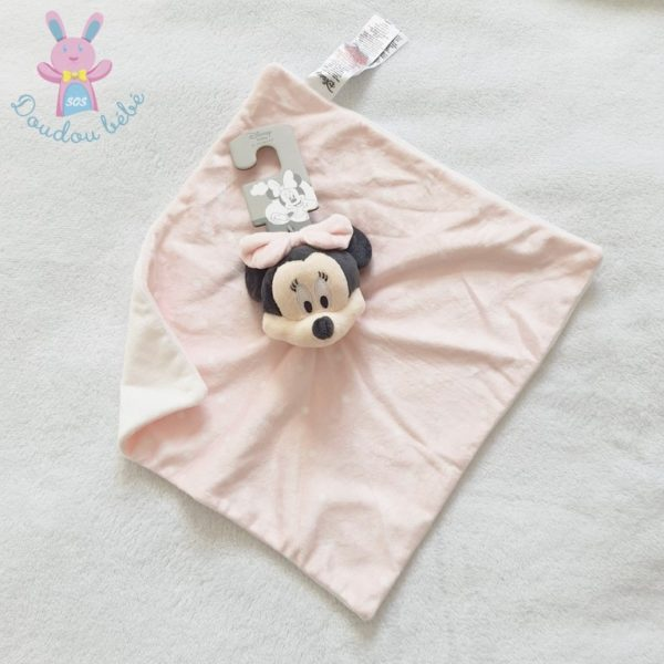 Doudou plat Minnie rose pois PRIMARK DISNEY