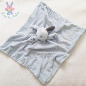 Doudou Chien bleu couverture My friend patch EARLY DAYS PRIMARK