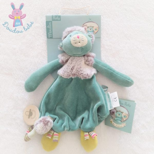 Doudou plat Chat Les pachats MOULIN ROTY