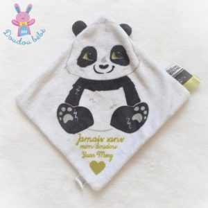 """Panda plat blanc noir """"Jamais sans mon doudou"""" ZOO DE BEAUVAL"""