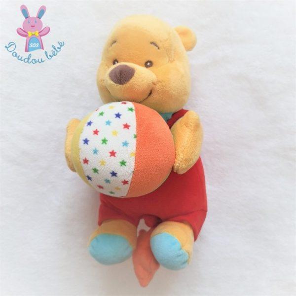 Doudou Winnie musical ballon DISNEY