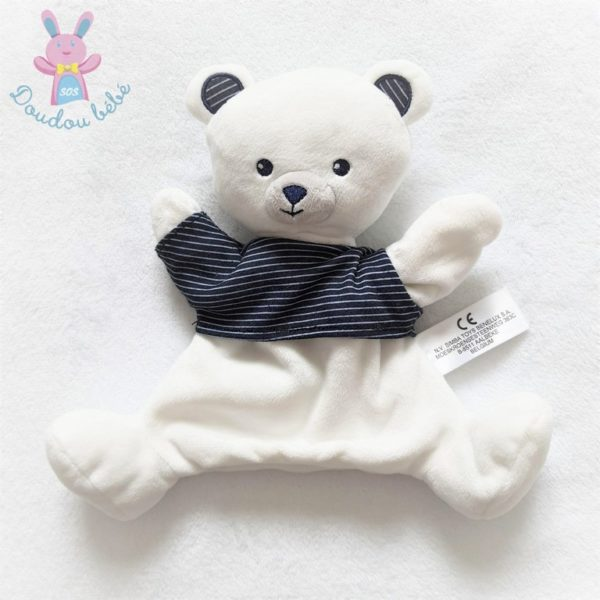 Doudou marionnette ours SIMBA