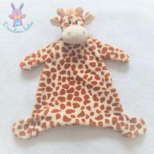 Doudou plat Girafe marron et beige KIMBALOO LA HALLE