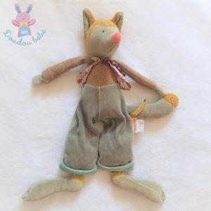 Doudou Loulou le Loup Les Tartempois 40 cm MOULIN ROTY